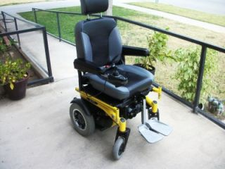 Electric Wheelchair Quickie s 646 7 MPH Custom L K