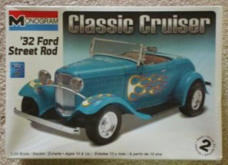 Monogram 1 24 Scale '32 Ford Street Rod Plastic Model Kit Skill 2 Age 10 Up
