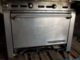 Montague Grizzly Flat Grill Oven Overhead Warmer Natural Gas