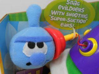 New VeggieTales Larry Boy Rumor Weed Fib Suction Ears Fisher Price Talking Toy