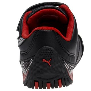 Puma Ferrari Drift Cat III SF Kids Boys Velcro Trainers Boots Shoes UK 11 Black