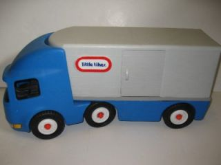 Little Tikes Semi Tractor Trailer Big Rig Truck Ride on or Push Preschool Toy