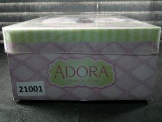 """Adora Nursery Time Babies """"African American Doll"""" with Baby Carrier New in Pkg"""