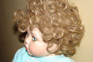 Vintage Handmade Porcelain Life Like Baby Doll