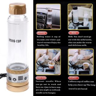 Digital Electric Heated Smart Mug Travel Car Coffee Tea Heating Cup Kettle
