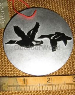 Hunter Hunting Small GOOSE Duck Silhouette Ornament