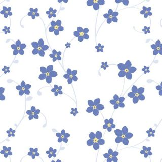 Gift Wrapping Paper Bulk Roll Gift Wrap Forget Me Nots 50 Metres