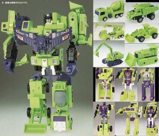 Takara Transformers G1 Encore 20 Devastator Constructicon Commemorative Coin