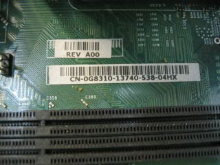 Dell GX280 0G8310 Rev A00 LGA775 Motherboard Heatsink Fan CPU