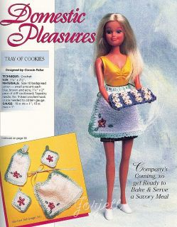Fashion Doll Fantasy Plastic Canvas Patterns Fit Barbie Fashion Dolls
