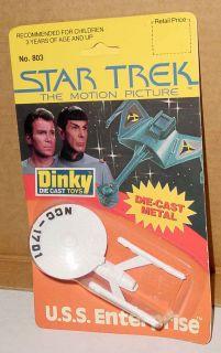 Star Trek Motion Picture Enterprise Die Cast Dinky Toys