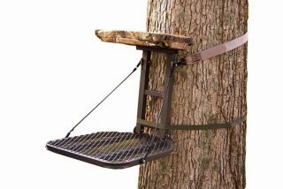 "New Summit Crush 82069 Perch Hang on Tree Stand 18""x22"" Bow Rifle Deer Hunting"