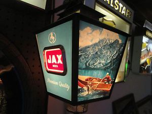 JAX Beer Motion Lighted Advertising Sign Hunting Fishing