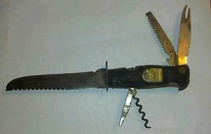 Vintage Fixed Blade Knife Decora Solingen Germany