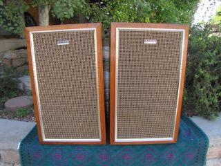 Pioneer CS A50 Vintage 60's Floor Standing Speakers Nice