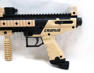 Tippmann Cronus Tan Black Basic Paintball Gun Semi Auto Marker New Tippman 669966993612