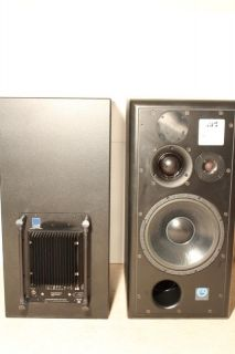ATC SCM 100ASL 3 Way Professional Series Monitors Pair 100 ASL w Floor Stands