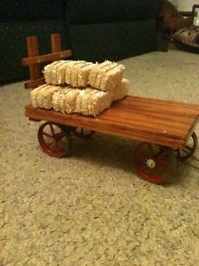 Hay Flatbed Wagon for Mamod Wilesco Weeden Toy Steam Tractors Traction Engine