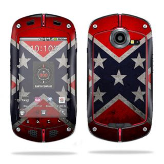 Skin Decal Sticker for Casio G'Zone Commando C711 B GzOne Rebel Flag