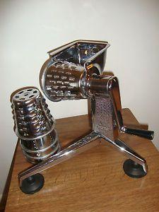 Original Vintage Stainless Steel Saladmaster Food Processor Dallas TX