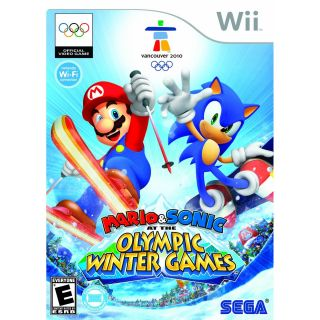 Mario Sonic at the Olympic Winter Games Wii, 2009