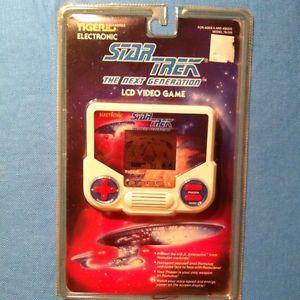 Vtg 1988 Star Trek The Next Generation Tiger Electronic Handheld Video LCD Game