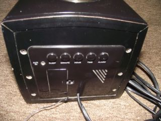 Vintage Philco TV Shape Alarm Clock Radio Working SN 1219