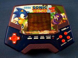 90s Sega Sonic 3D Blast Tiger Electronic Handheld Video LCD Game Arcade Vintage