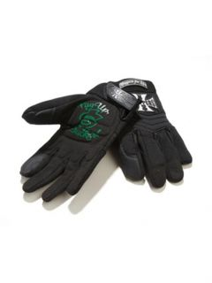 West Coast Choppers Black Riding Gloves