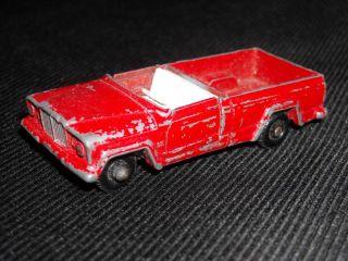 Vintage Lesney Matchbox No 71 Jeep Gladiator Truck