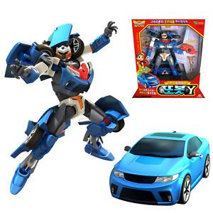 Tobot Y Transformer Robot Kia Forte Koup Kids Children Transformable Toy Figure