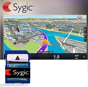 Sygic 3D North America Map Free 4GB SD Card for Android GPS Car DVD Players