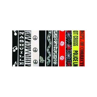 "20+ Designs LM 2/"" Polyester Graphic Guitar Straps"