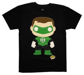 Green Lantern Pop Heroes DC Comics Superhero Adult T Shirt Tee
