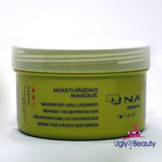 Una Moisturizing Masque Treatment for Dehydrated Hair 500 ml 16 9 FL Oz