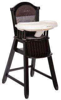 New Eddie Bauer Classic Cherry Wood Baby High Chair Caitlin