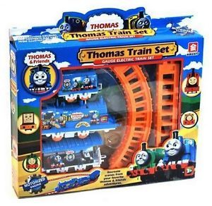 Thomas Electric Rail Train Set Track Toy for Kids with Package 9300