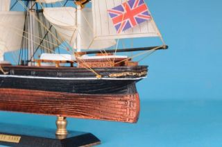 "Cutty Sark Limited 15"" Wooden Model Tall SHIP Tall SHIP Model"