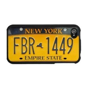 ★ New York Taxi No LICENCE Plate Case for Apple iPhone 4 4S Hard Back Cover ★