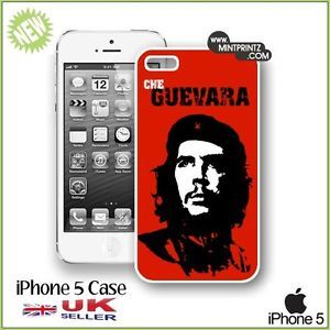 ★ Cult Iconic Che Guevara Case for IPH5 New iPhone 5 5g Hard Back Cover ★