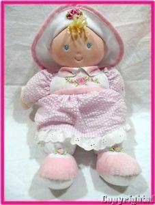 Kids Preferred Sofia First Doll Pink Seersucker Dress Rose Hat Soft Toy