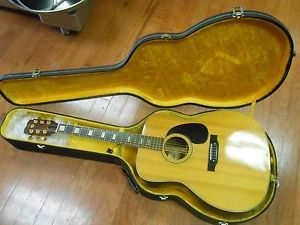 C G Conn Vintage Acoustic Guitar Model F27 with Hardsided Case Low Start