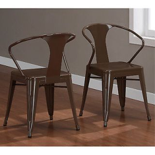 chocolate chip brown tabouret stacking chairs set of 4