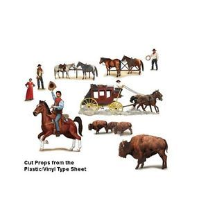 Western Characters Scene Setters Decorations Add Ons Wall Cowboy Party Supply