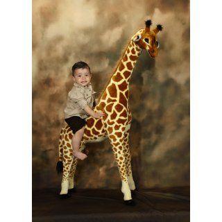 Melissa Doug Giant Giraffe Kids Toy Large Soft Stuffed Animal Unique New