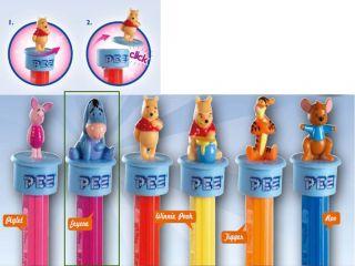 Pez Disney Winnie Pooh Tigger Piglet Bonbon Candy Birthday Party Supply Series