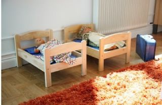 IKEA Duktig Doll Bed Toy Set for Kids Great Doll Bed All Wood