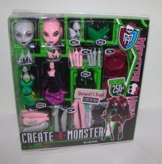 Monster High Create A Monster Doll Werewolf Dragon Starter Pack