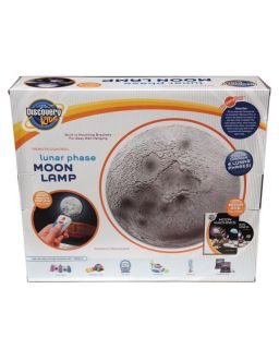 Discovery Kids Moon Lamp Remote Control w DVD Toy Gift