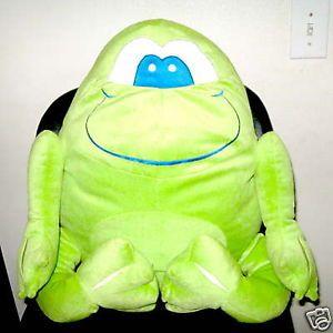 Monsters Inc Large Green Plush Monster Chair Full